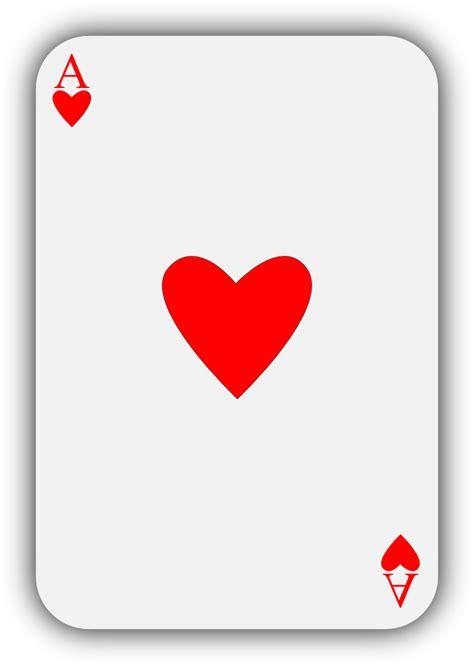 Cartas poker corazones : Free poker vector art