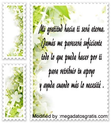 Cartas y mensajes de agradecimiento por ayuda recibida ...