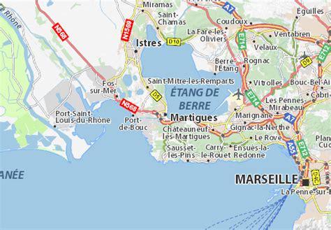 Carte détaillée Martigues - plan Martigues - ViaMichelin