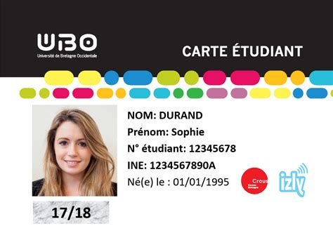 Carte UBO multi services