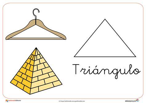 Cartel con triángulo
