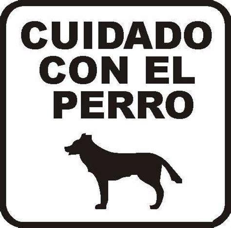 Cartel Cuidado Con El Perro - $ 150,00 en Mercado Libre