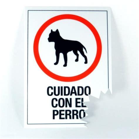 Cartel Cuidado con el Perro!