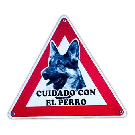 Cartel Cuidado con el Perro - Tiendanimal