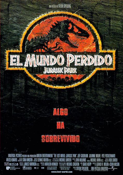 Cartel de El mundo perdido: Jurassic Park   Poster 1 ...