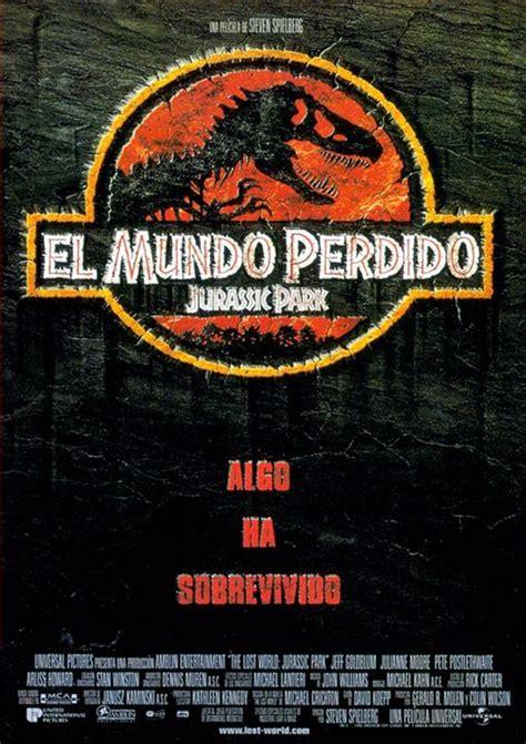Cartel de El mundo perdido: Jurassic Park - Poster 1 ...