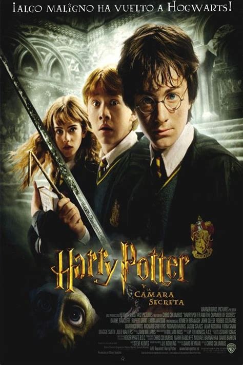 Cartel de Harry Potter y la Cámara Secreta   Poster 1 ...