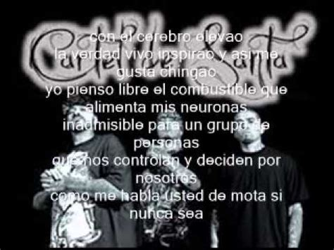cartel de santa doctor marihuana letra   YouTube