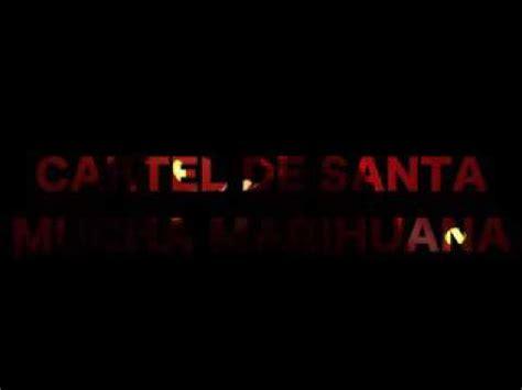 Cartel de Santa mucha marihuana - YouTube