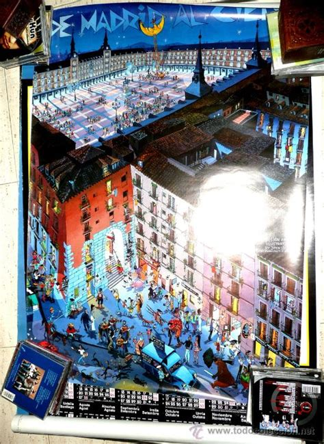 cartel poster de madrid al cielo - Comprar Carteles ...