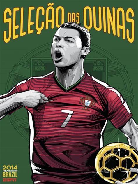 Carteles Copa Mundial Fútbol FIFA Brasil 2014. CrisVector.