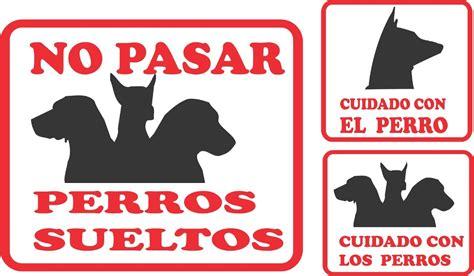 Carteles Cuidado Con El Perro. - $ 300,00 en Mercado Libre