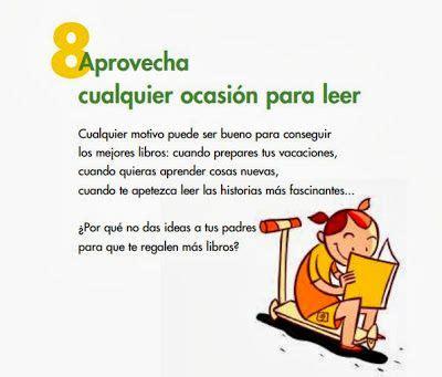 Carteles para fomentar la lectura en los niños. Decálogo ...