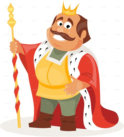 Cartoon King by artbesouro | GraphicRiver