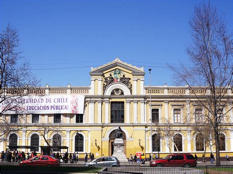 Casa Central Universidad de Chile   Turistik