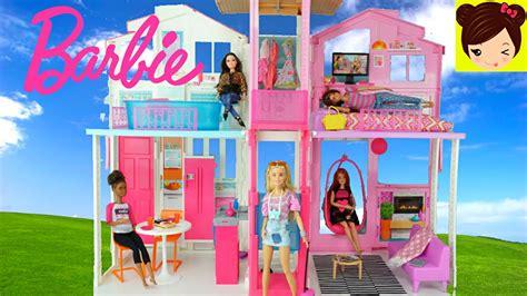 Casa de Barbie de Tres Pisos 2016   Decorando la Mansion ...