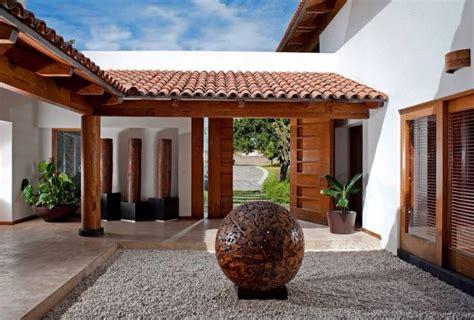 Casa de campo de diseño espectacular en México | Patios ...