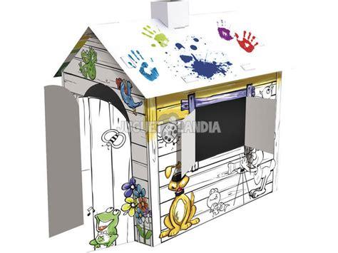Casa de Dibujos 3D para Colorear   Juguetilandia