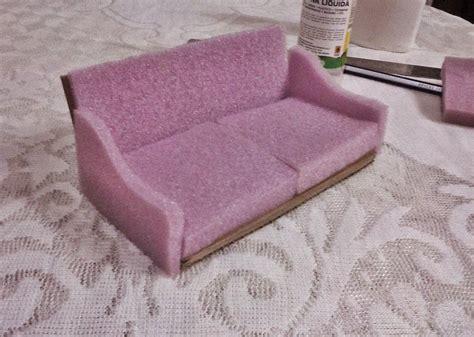 Casa de Muñecas - Dollhouse DIY: Cómo hacer un sofá para ...
