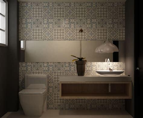 Casa del trebol: baños de estilo por santiago dussan ...