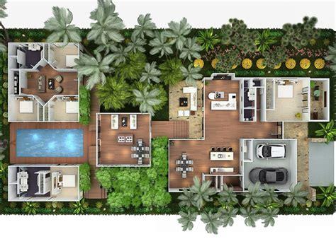 Casa habitación con áreas independientes unidas por ...