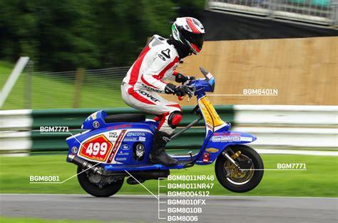 Casa Lambretta Racing Team successful with BGM PRO parts ...