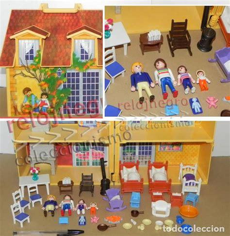 casa maletín de playmobil clic juguete familia   Comprar ...