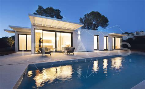 Casa prefabricada de hormigón Modelo Manacor en Ibiza