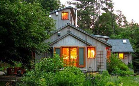 Casas en el bosque: ecologicas