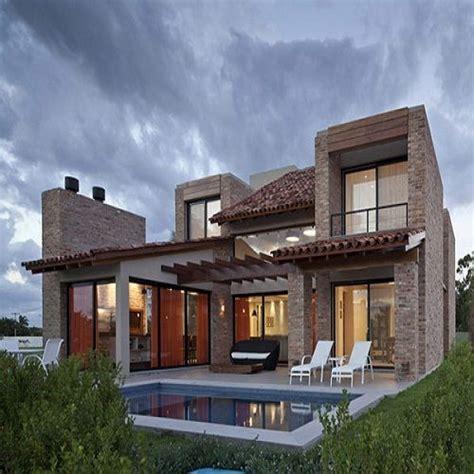casas estilo rustico contemporaneo fachada - Buscar con ...