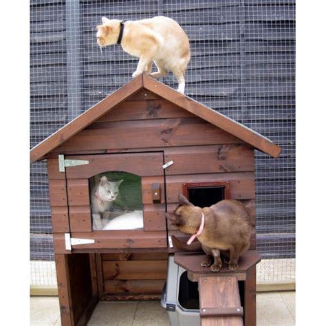 Casas para gatos en exterior - Accesorios para gatos ...