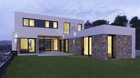 Casas prefabricadas de hormigón y casas modulares.