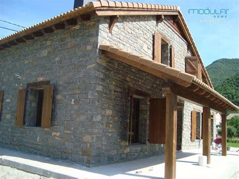 Casas prefabricadas rústicas - Modular