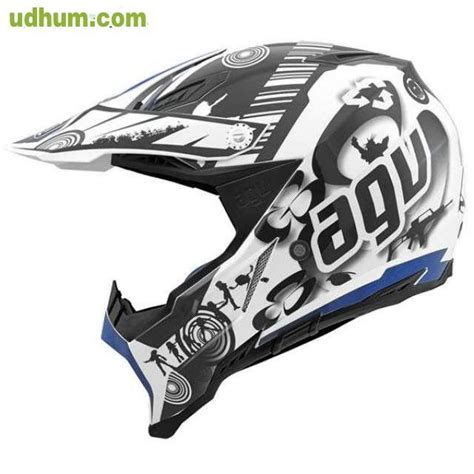 CASCO AGV AX8 COOL AZUL