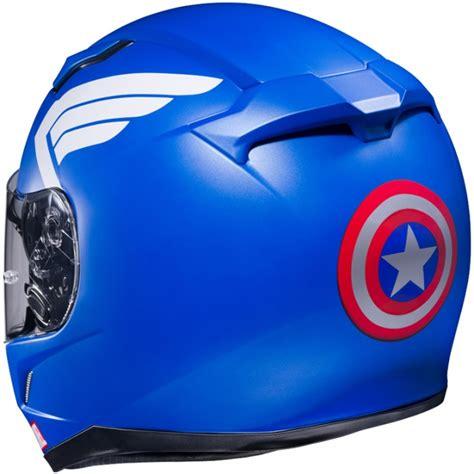 Cascos de moto basados en personajes Marvel