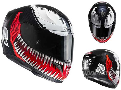 Cascos de moto HJC RPHA 11 Venon y Spiderman - Precio y ...