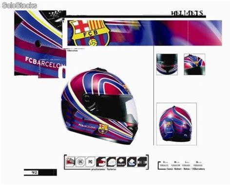 Cascos de moto oficial del FC Barcelona, Barsa