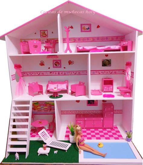 casita de muñecas,muebles y baño,puf,muñeca,luz y comidas ...