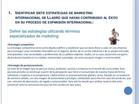 Caso lladró marketing internacional
