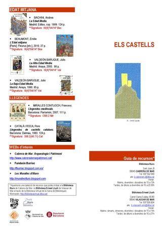 Castells i Cavallers by Biblioteca Vilassar de Mar - Issuu