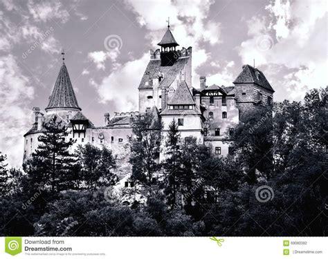 Castillo Del Salvado   Castillo De Dracula Foto de archivo ...
