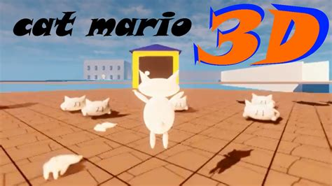Cat mario 3D / Syobon action 3D   Stage 1   Solution and ...