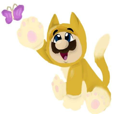 Cat Mario by 0ColorPaint0 on DeviantArt