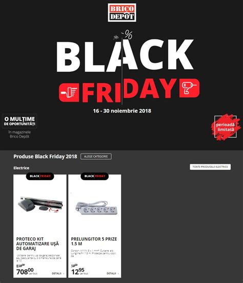 Catalog Brico Depot Black Friday din 16 Noiembrie 2018 ...
