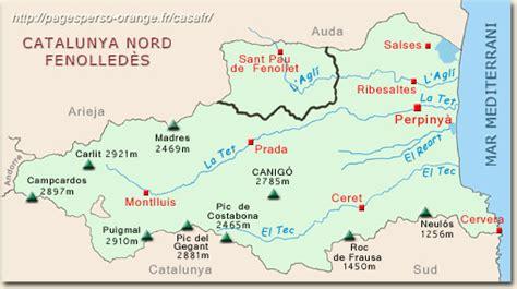 Catalogne Nord Fenouillèdes.Situation géographique