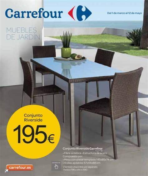 Catálogo Carrefour muebles de jardín - EspacioHogar.com