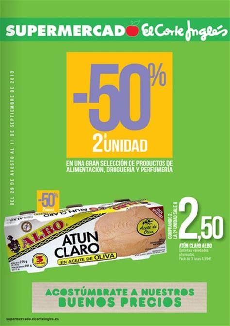 Catálogo de Supermercado El Corte Inglés: Agosto ...