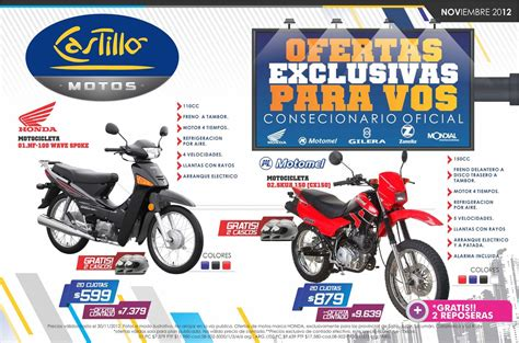 Catalogo Motos Noviembre 2012 by castillo ...