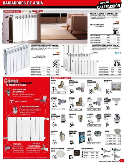 Catálogo radiadores Brico Depot: precios ofertas ...