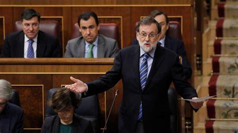 Cataluña: Rajoy reprocha a Rivera que